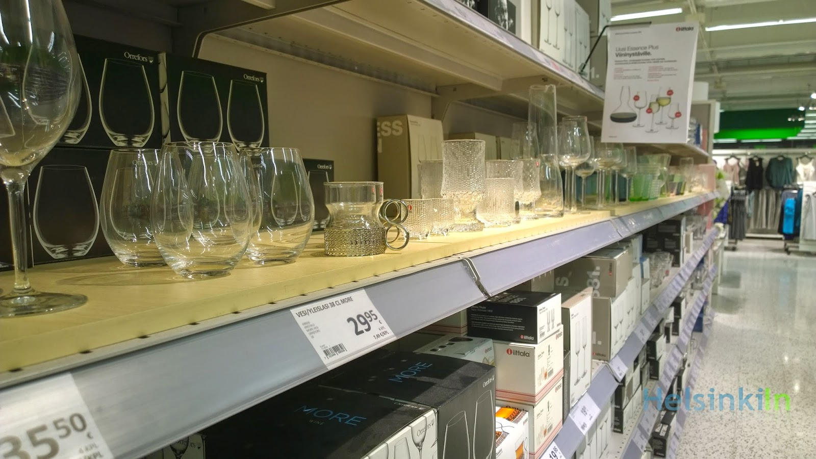 Iittala products at Prisma