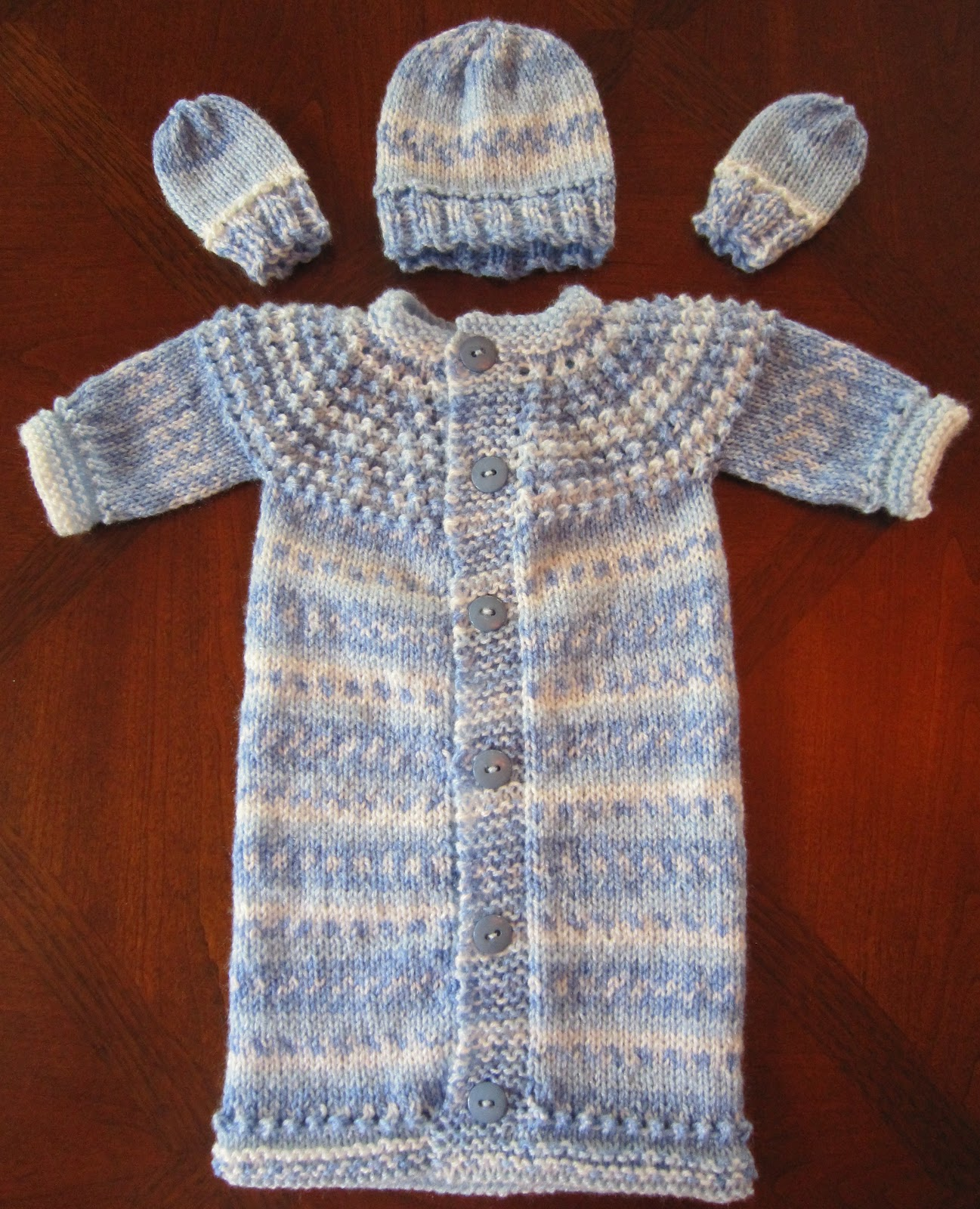 Sea Trail Grandmas Knitting Pattern Preemie Amp Newborn