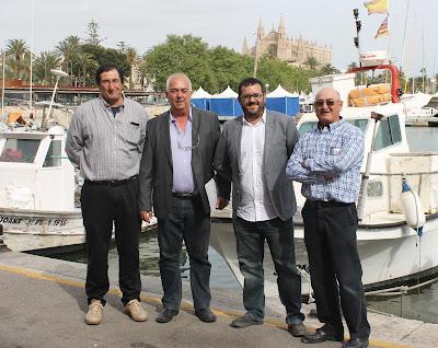 Bonnín, Mercant, Vidal y Cànaves presentan decreto Pescaturismo
