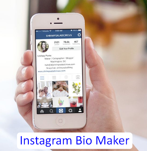 Instagram Bio Maker