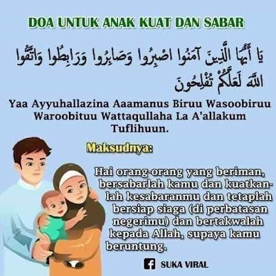 Doa Untuk Anak Jadi Penyabar