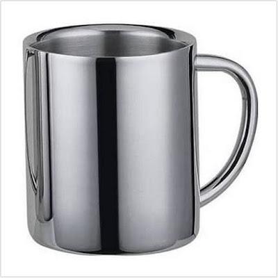 Dos Stainless Steel Mug.