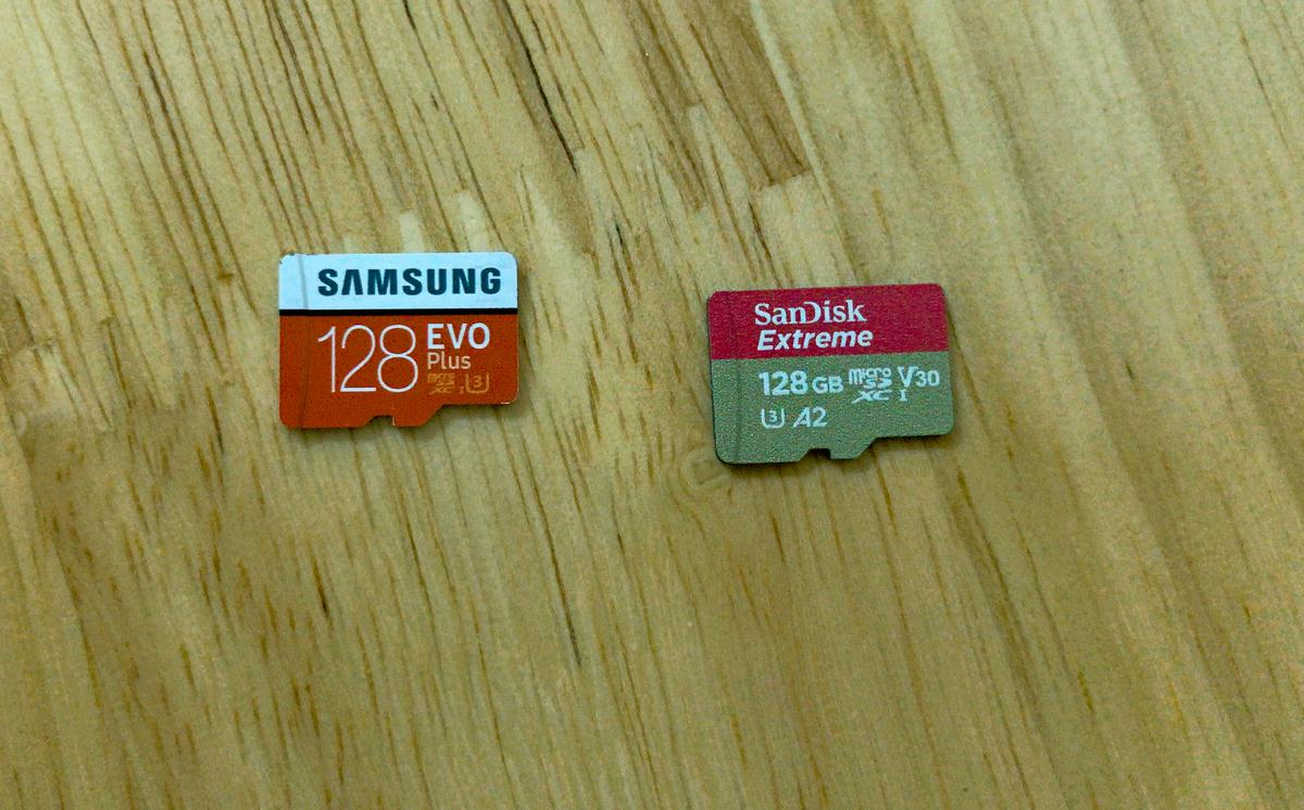 Chọn mua thẻ nhớ: Samsung Evo Plus hay Sandisk Extreme?