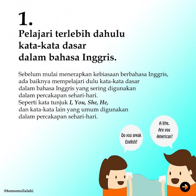 5 TIPS BELAJAR BAHASA INGGRIS (UNTUK PEMULA)
