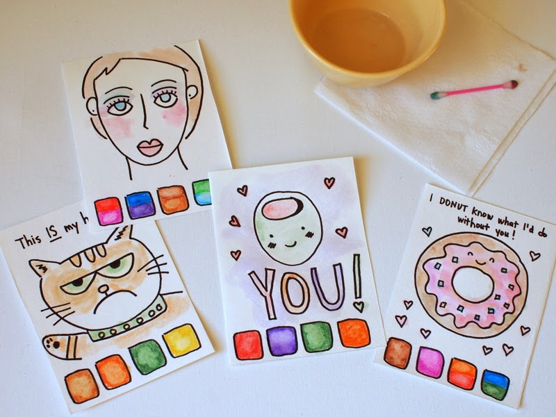 """Make your own """"Paint with water"""" pages 