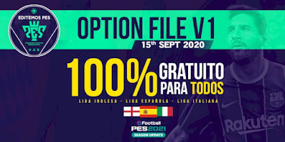 PES 2021 PS4 Option File EditemosPES V1