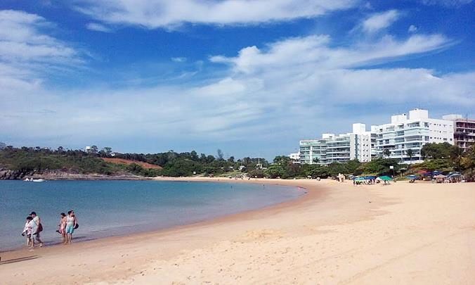 Praia de Bacutia - Guarapari