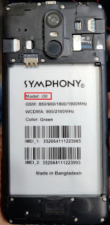 Symphony i30 firmware 100% tested without password