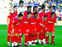GETAFE C. F. - Getafe, Madrid, España - Temporada 2008-09 - Polanski, Jacobo, Belenguer, Granero, Casquero y Rafa; Albín, Gavilán, Uche, Mario y Cortés - REAL VALLADOLID C. F. 1 (Canobbio), GETAFE 0 - 15/03/2009 - Liga de 1ª División, jornada 27 - Valladolid, estadio Nuevo José Zorrilla - El Getafe se clasificó 17º en la Liga, con Víctor Muñoz y Michel de entrenadores