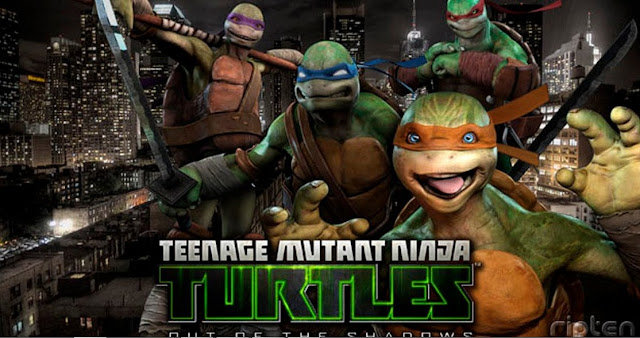 Gambar download film Teenage Mutant Ninja: Turtles out of the shadows
