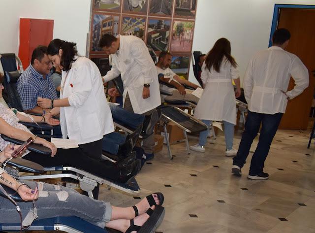 Μεγάλη ήταν η συμμετοχή στην εθελοντική αιμοδοσία Δήμου Ιλίου