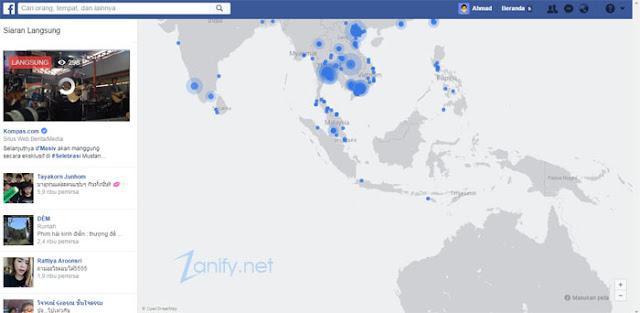 Cara Melihat Siaran Langsung (Live) di Facebook