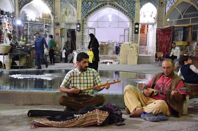 Many street musicians have become a tourist attraction in their own right, known for creating a lively and melodic atmosphere. As one of the oldest cities in Iran, Isfahan has some of the country's most deeply entrenched musical traditions. Street musicians often play an important role in religious ceremonies but there's also a spontaneous nature to the music that fills Isfahan's streets. While you're in Isfahan, you can visit traditional bazaar ,as a music lover's spot, and just a few minutes spend on this legendary place.