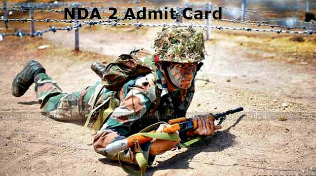 NDA 2 Admit Card