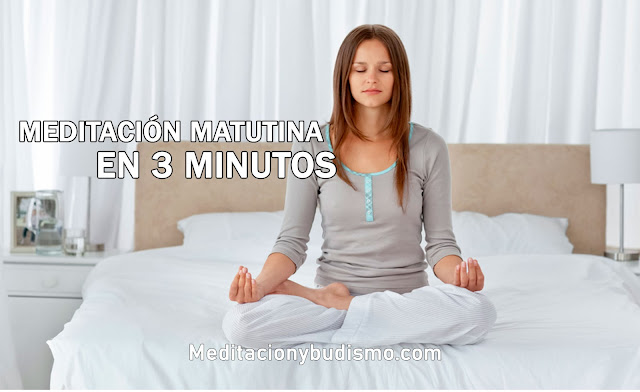 Meditación matutina en 3 minutos