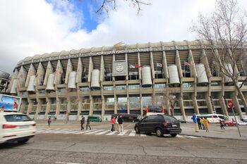 Estádio Santiago Bernabéu - Real Madrid