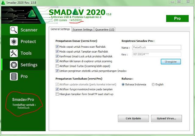 Download Smadav Pro Rev 13.8 Full Serial Number Nama dan ...