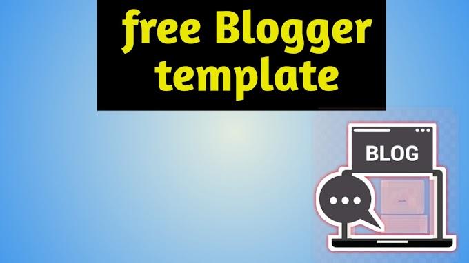 Free Premium - Blogger Templates