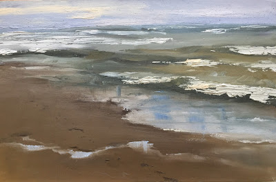 plein air seascape by philine van der vegte