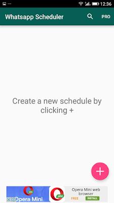 Scheduler For WhatsApp Jadwalkan WhatsApp Tanpa Root