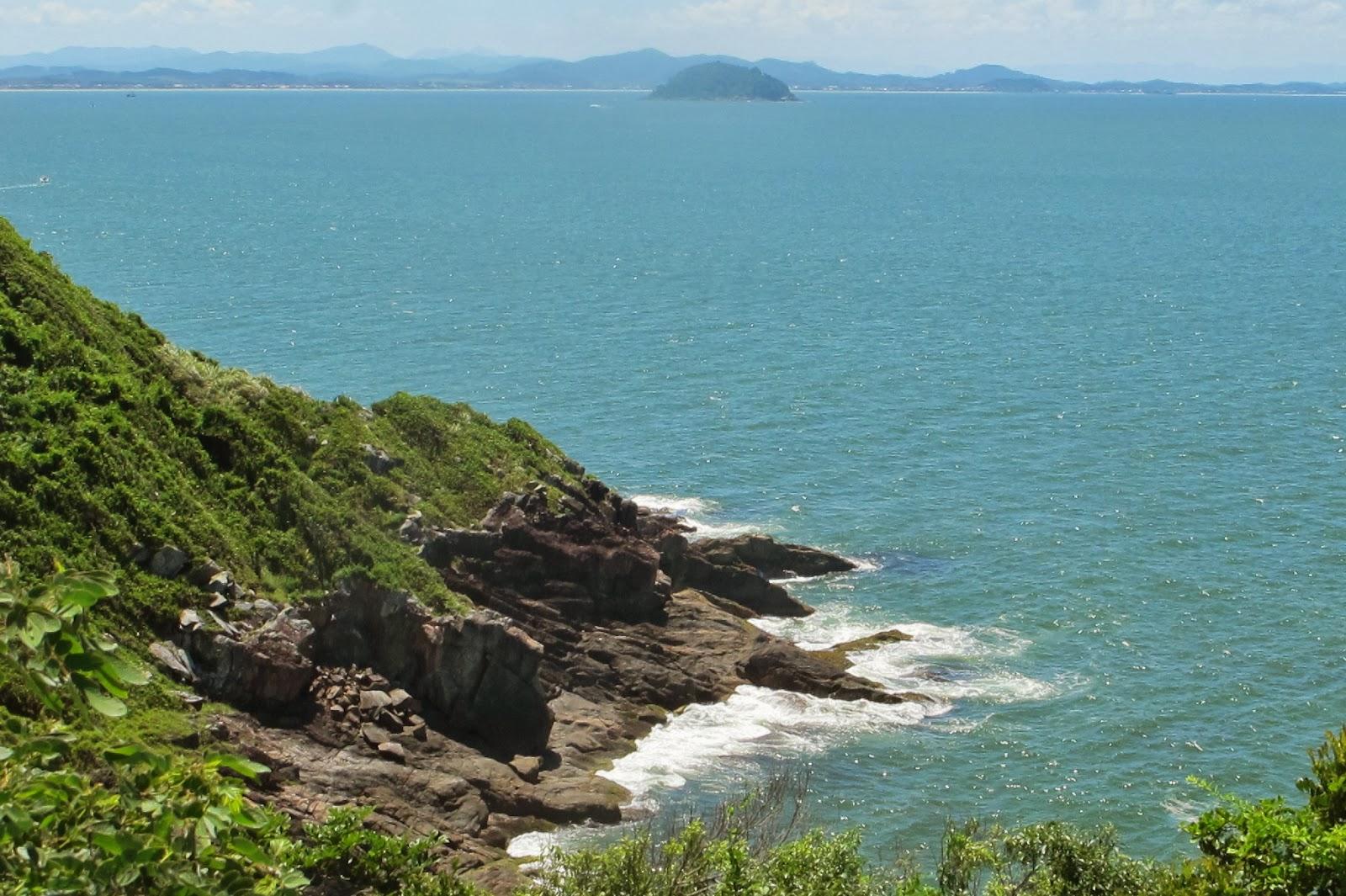 Ponta do Vigia, em Penha, no litoral catarinense