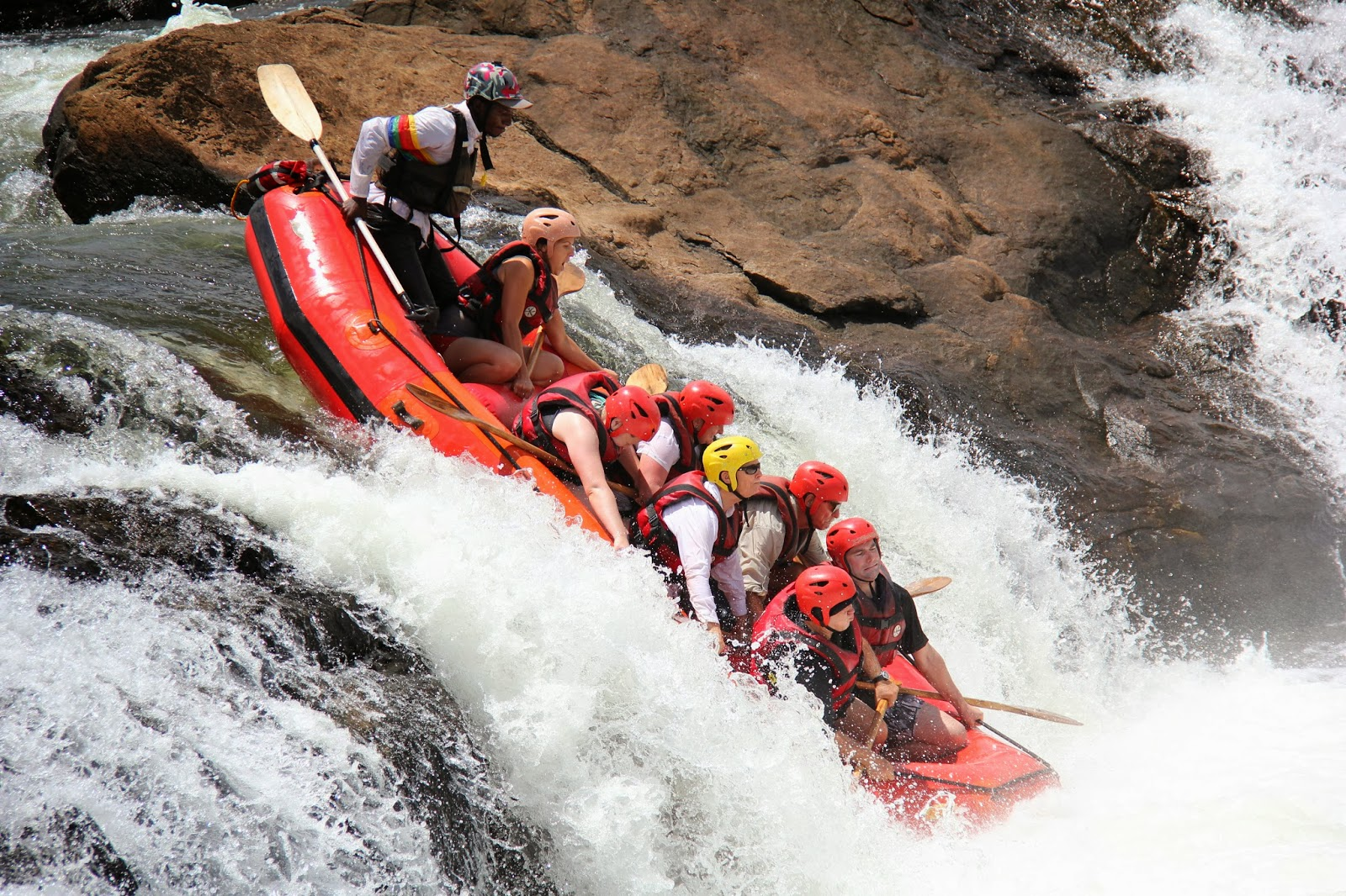 White Nile Rafting