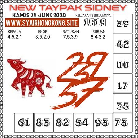 Prediksi New Taypak Sydney Kamis 18 Juni 2020