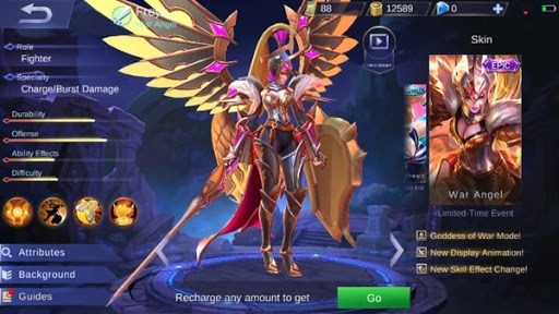 New Freya Epic Skin – War Angel