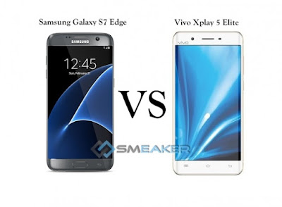 Vivo Xplay 5 Elite, Vivo, Samsung Galaxy S7 Edge, Samsung Galaxy S7 Edge vs Vivo Xplay 5 Elite, Android 6.0 Marshmallow, harga smartphone,