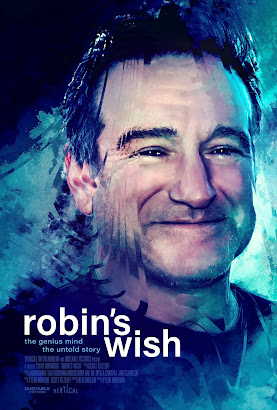 SYNOPSIS: Robin's Wish tells the powerful true story of actor/comedian Robin Williams' final days. For the first time, Robin's fight against a deadly neurodegenerative disorder, known as Lewy Body Dementia, is shown in stunning detail. Through a gripping journalistic lens, this incredible story sheds an entirely new light on the tragedy, beauty and power behind the mind of one of the greatest entertainers of all time.    WATCH THE TRAILER: https://youtu.be/cT7fqJbvE4M  ROBIN'S WISH features interviews with Susan Schneider Williams, Shawn Levy, John R. Montgomery, Rick Overton and David E. Kelly. The film is directed by Tylor Norwood (directorial feature debut) who co-wrote the film with Scott Fitzloff (The United States of Detroit).