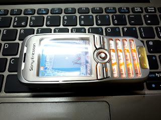 Hape Jadul Sony Ericsson K500 K500i Seken Mulus Kolektor Item