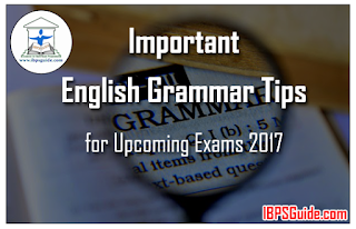 Important English Grammar Tips for Upcoming Exams 2017