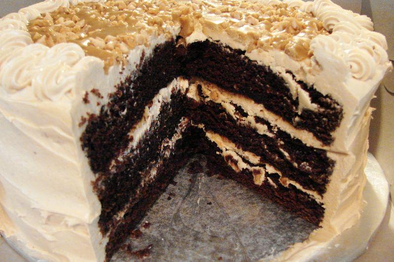 Toffee Drizzle Cake Recipe