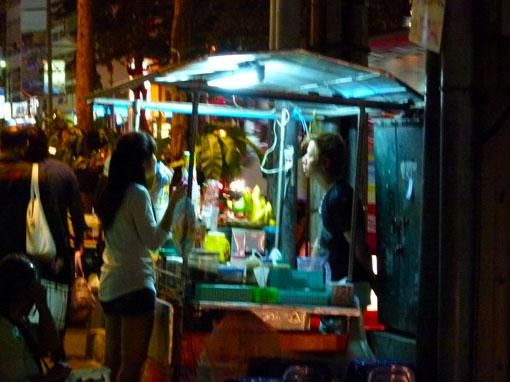Bangkok nightlife at Thaniya Plaza