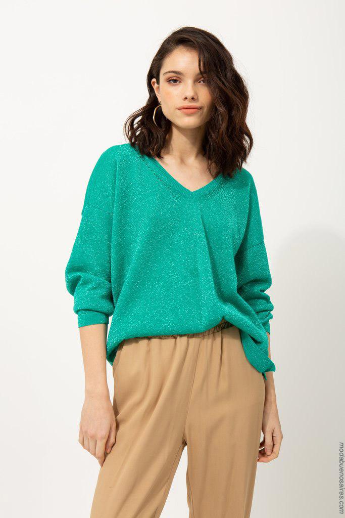 Sweaters primavera verano 2020 buzos.
