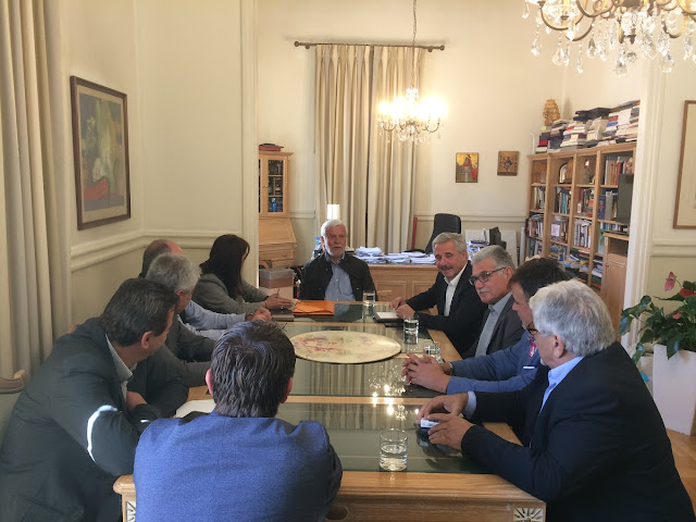 Πέτρος Τατούλης: Η υποψηφιότητα Μανιάτη ενισχύει το πολιτικό προφίλ της Πελοποννήσου