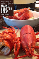 Learn how to make authentic Maine Lobster Stew. Tender lobster meat in a sherry cream lobster based stew. Decadent and delicious.