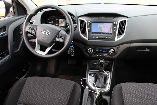 Hyundai Creta Pulse Plus 1.6 A/T 2019 - interior - painel