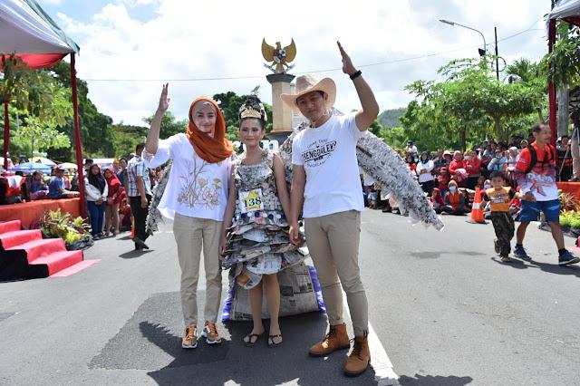 Bupati Nur Arifin Apresiasi Kampanye Lingkungan dalam Trenggalek Pop Culture Parade 2019