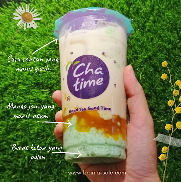 Rasa Chatime Mango Sticky Rice