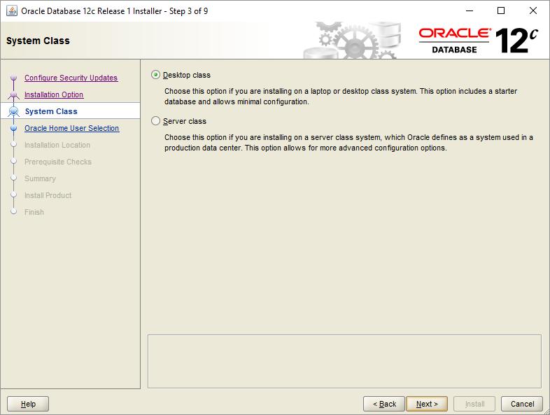Installing Oracle Database 11g and 12g on Windows 10