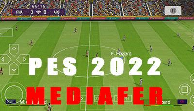 تحميل لعبة بيس PES 2022 الاصلية للاندرويد بدون نت مع تعليق الصوتي برابط مباشر من ميديا فاير