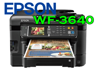Epson WF-3640 Driver