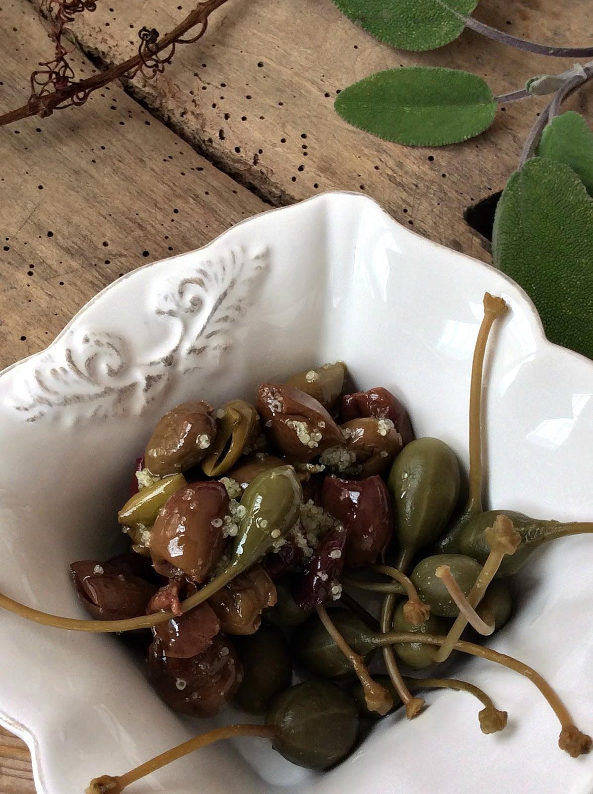 cucunci e olive taggiasche