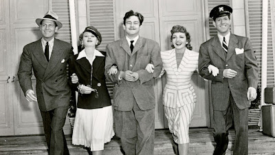 The Palm Beach Story - Preston Sturges, Claudette Colbert, Joel McCrea, Mary Astor, and Rudy Vallee