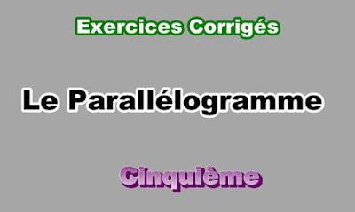 Exercices Corrigés Sur Le Parallélogramme 5eme en PDF