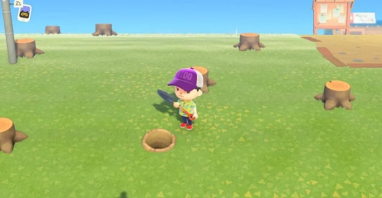 Animal Crossing: New Horizons - How to get and build the shovel