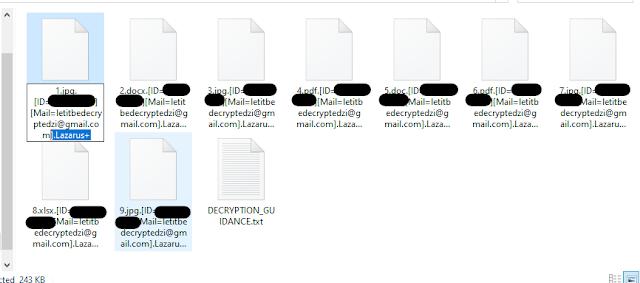.Lazarus+ file virus