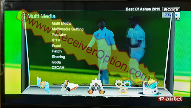 1506TV BOARD TYPE HD RECEIVER NEW SOFTWARE WITH DSCAM OPTION