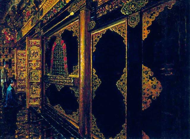 Василий Васильевич Верещагин - Храм в Токио. 1871-1873